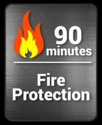 decal 75 min fire