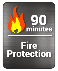 decal 75 min fire